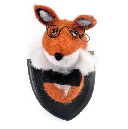 Lord Fox Wall Plaque