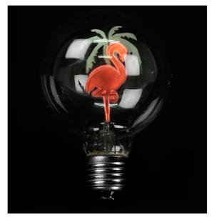Flamingo Light Bulb Thumbnail 1