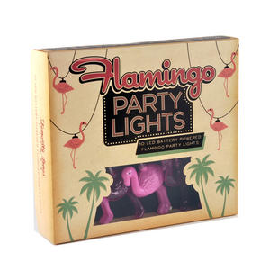 Flamingo String Lights Thumbnail 2