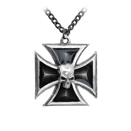 Black Knight's Cross - Alchemy Pewter Pendant