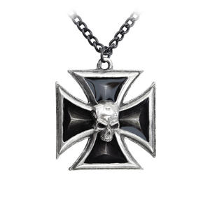 Black Knight's Cross - Alchemy Pewter Pendant Thumbnail 1
