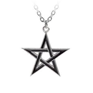 Black Star - Alchemy Pewter Pendant Thumbnail 1