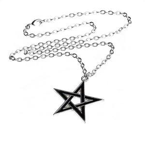 Black Star - Alchemy Pewter Pendant Thumbnail 2