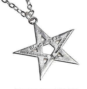 Black Star - Alchemy Pewter Pendant Thumbnail 3