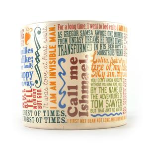 Greatest First Lines of Literature Ever Mug - Kerouac, Gatsby, Lolita, Salinger, Dickens etc Thumbnail 2