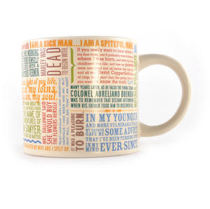 Greatest First Lines of Literature Ever Mug - Kerouac, Gatsby, Lolita, Salinger, Dickens etc Thumbnail 3