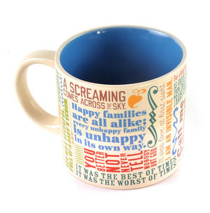 Greatest First Lines of Literature Ever Mug - Kerouac, Gatsby, Lolita, Salinger, Dickens etc Thumbnail 4