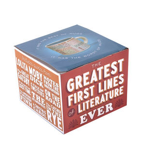 Greatest First Lines of Literature Ever Mug - Kerouac, Gatsby, Lolita, Salinger, Dickens etc Thumbnail 5
