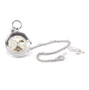 White Face Sun And Moon Pocket Watch Thumbnail 5