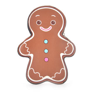 Gingerbread Man Coin Purse Thumbnail 1
