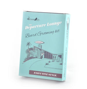 Departure Lounge - Beard Grooming Kit - World-Renowned Executive Style Thumbnail 1