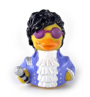 Paddle Like Its 1999 Rubber Duck - Celebriduck for Prince Fans Thumbnail 1