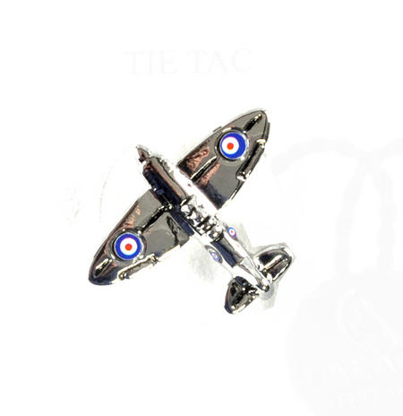 Spitfire Boxed Lapel Pin / Tie Pin /  Tie Tac