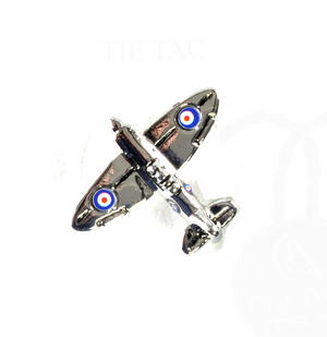 Spitfire Boxed Lapel Pin / Tie Pin /  Tie Tac Thumbnail 1