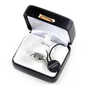 Rugby Ball Boxed Lapel Pin / Tie Pin /  Tie Tac Thumbnail 3