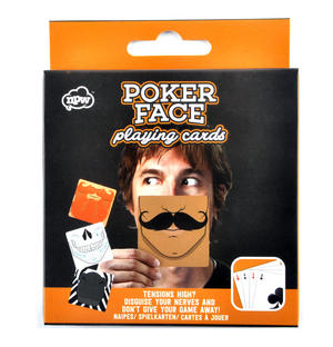 Poker Face Playing Cards - Disguise Your Nerves Thumbnail 1