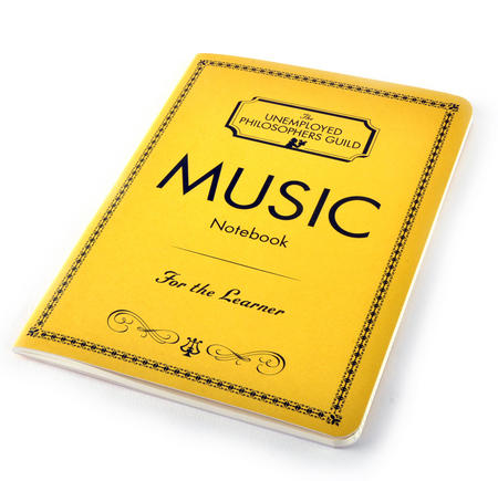 Music Notebook - for the Learner with Sheet Music Pages & Notation Guide