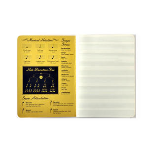Music Notebook - for the Learner with Sheet Music Pages & Notation Guide Thumbnail 2