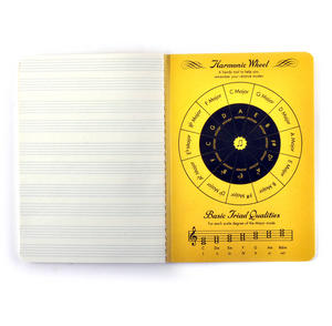 Music Notebook - for the Learner with Sheet Music Pages & Notation Guide Thumbnail 3