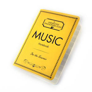 Music Notebook - for the Learner with Sheet Music Pages & Notation Guide Thumbnail 4