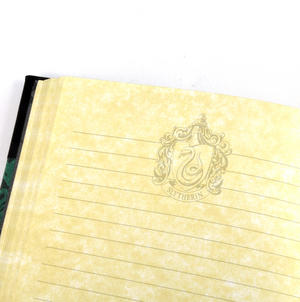 Harry Potter Slytherin Premium Journal Notebook - Noble Collection Thumbnail 4