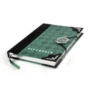 Harry Potter Slytherin Premium Journal Notebook - Noble Collection Thumbnail 6