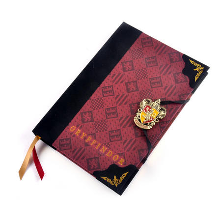 Harry Potter Gryffindor Premium Journal Notebook - Noble Collection