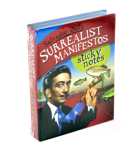 Salvador Dali's Surrealist Manifestos Notes - Sticky Notes