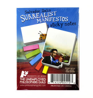 Salvador Dali's Surrealist Manifestos Notes - Sticky Notes Thumbnail 3