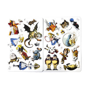Curiouser and Curiouser - Alice In Wonderland & Through the Looking Glass Fridge Magnet / Magnetic Play Set Thumbnail 3