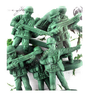 War on Error Erasers - Soldier Rubber Set Thumbnail 2
