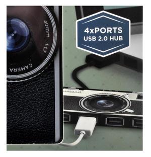 Camera 4 Port Super Hub USB 2.0 Hub Windows & Mac Thumbnail 2