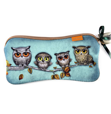 Owls Accessory Case By Gorjuss