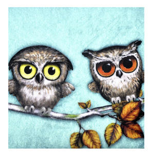 Owls Accessory Case By Gorjuss Thumbnail 2