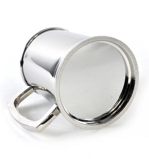 Captain Tankard in Heavy Polished Stainless Steel Thumbnail 4