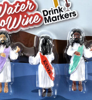Water Into Wine - Christian Glass Markers - Approved by Jesus Thumbnail 2
