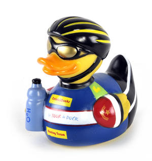 Tour de Duck Rubber Duck - Celebriduck for Tour de France Fans Thumbnail 1
