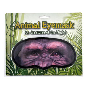 Chimp Eye Mask / Sleep Mask Thumbnail 1