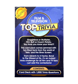 Top Trivia - Film & Television 1000 Questions Thumbnail 3