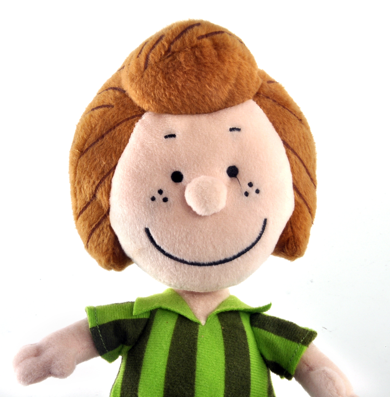 peppermint patty peanuts soft toy 10 of warm happiness pink