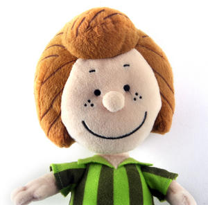 "Peppermint Patty - Peanuts Soft Toy - 10"" of Warm Happiness Thumbnail 2"