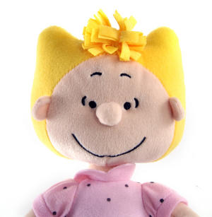 "Sally - Peanuts Soft Toy - 10"" of Warm Happiness"