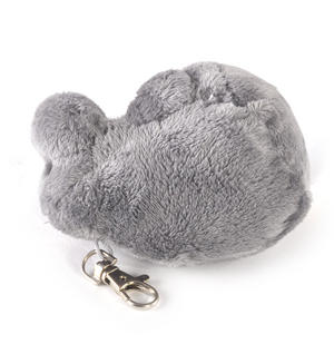 "Groke Keyclip - Moomins Soft Toy -5"" of Mumintroll Fun Thumbnail 3"