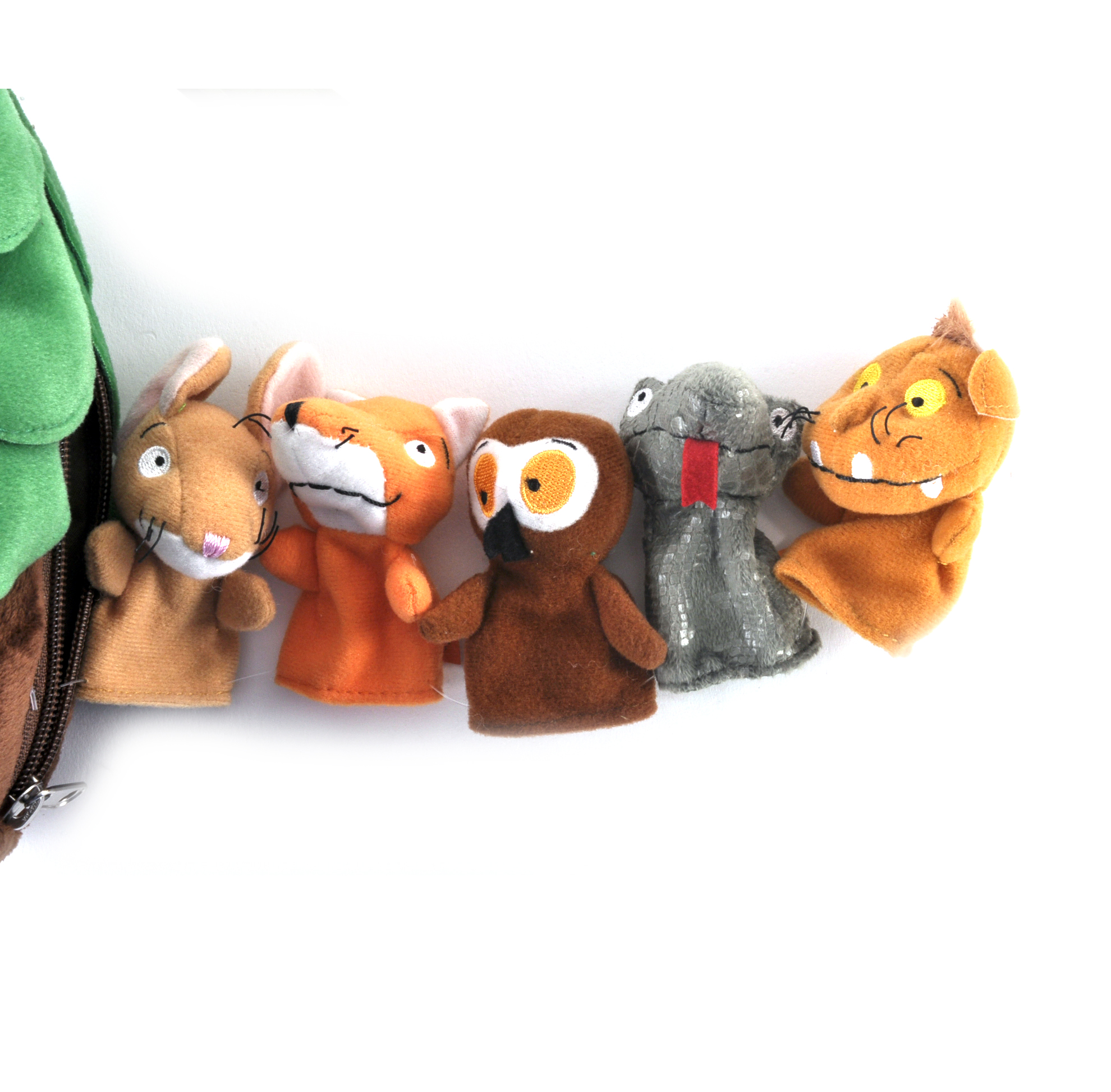 Gruffalo Finger Puppets Treehouse Set Pink Cat Shop