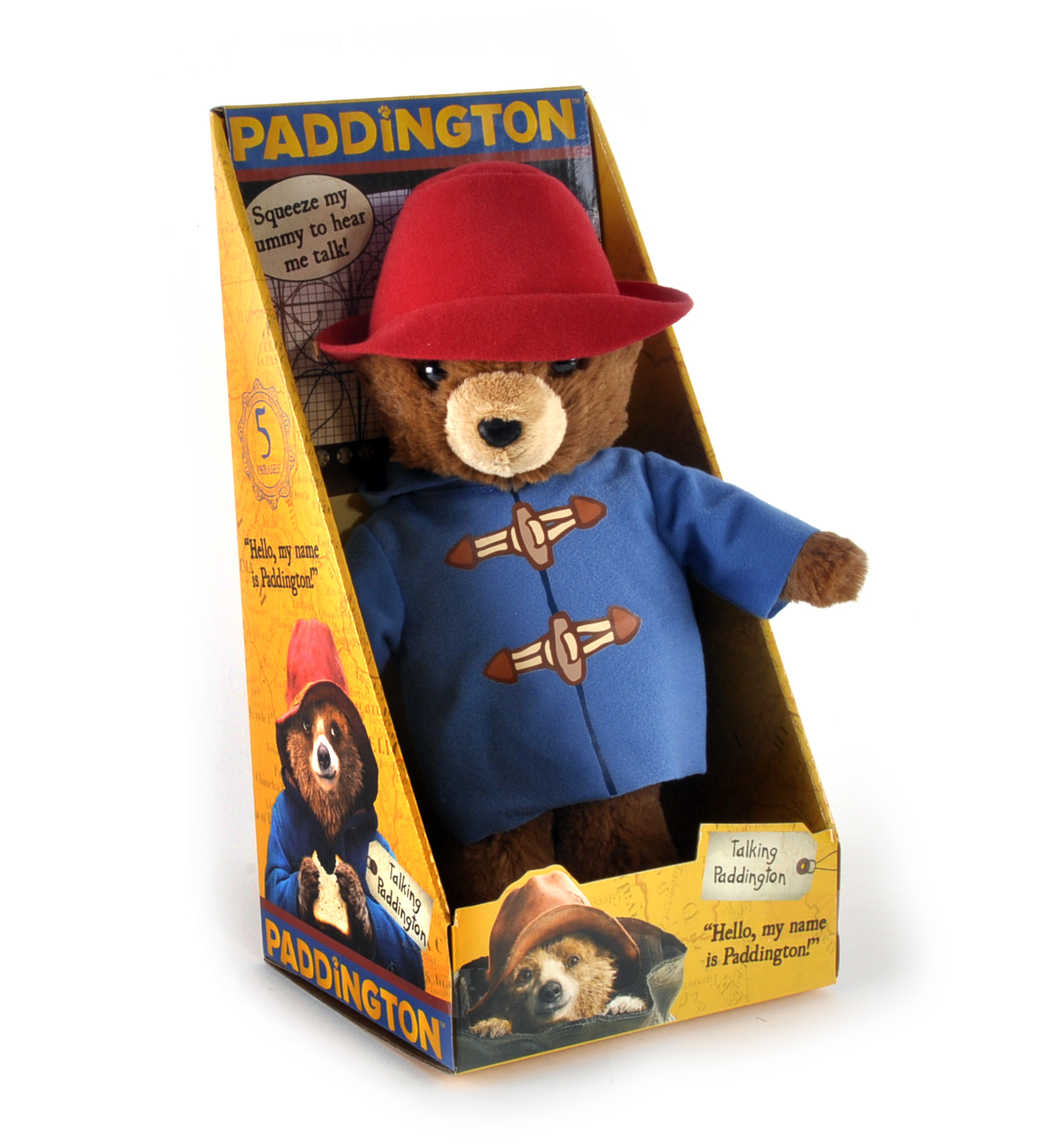 Paddington Bear Movie Talking Toy Pink Cat Shop