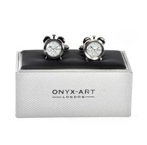 Cufflinks - Alarm Clock