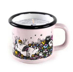 Moment Together- Moomin Candle in 15 cl Enamel Cup Thumbnail 2