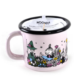 Moment Together- Moomin Candle in 15 cl Enamel Cup Thumbnail 4