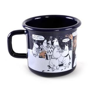 Winter Romance - Moomin Muurla Enamel Mug- 3.7 cl Thumbnail 1