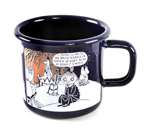 Winter Romance - Moomin Muurla Enamel Mug- 3.7 cl Thumbnail 4